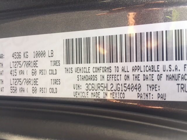 2018 Ram 2500 Crew Cab 4x4 Pickup #17510 - photo 22