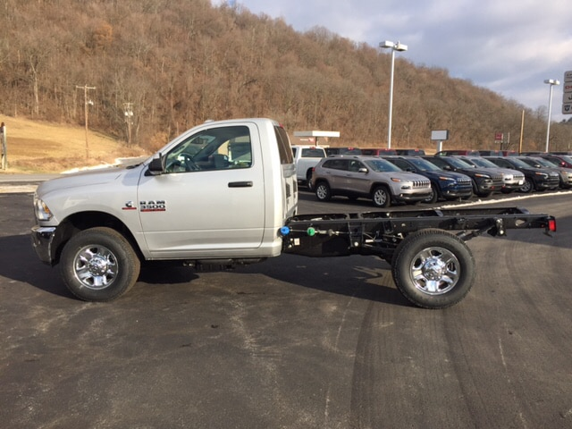 2018 Ram 3500 Regular Cab 4x4, Cab Chassis #17555 - photo 8