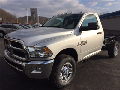 2018 Ram 3500 Regular Cab 4x4 Cab Chassis #17555 - photo 1