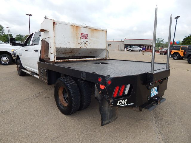 2015 Ram 3500 Crew Cab DRW 4x4, Platform Body #18230A - photo 5