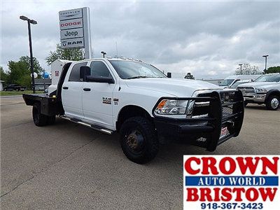 2015 Ram 3500 Crew Cab DRW 4x4, Platform Body #18230A - photo 1
