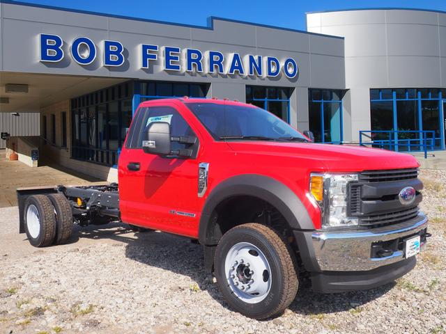 2017 F-450 Regular Cab DRW 4x4, Cab Chassis #HF680 - photo 1