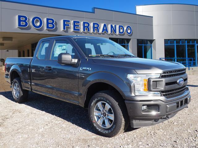 2018 F-150 Super Cab 4x4, Pickup #JF121 - photo 1