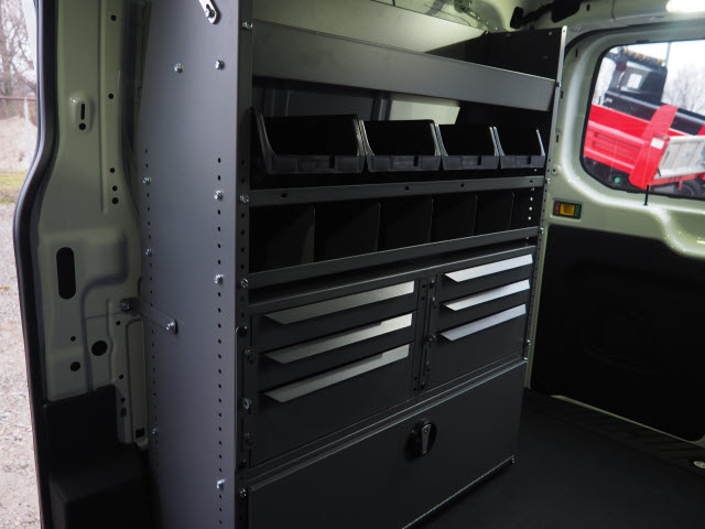 2018 Transit 250 Low Roof 4x2,  Masterack Upfitted Cargo Van #JF165 - photo 9