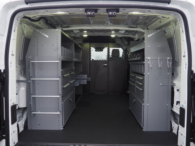 2018 Transit 250 Low Roof 4x2,  Masterack Upfitted Cargo Van #JF165 - photo 2