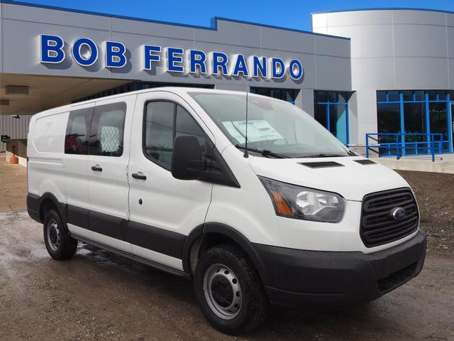 2018 Transit 250 Low Roof 4x2,  Upfitted Cargo Van #JF165 - photo 1