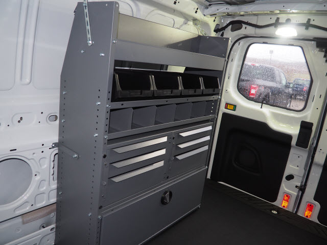 2018 Transit 250 Low Roof 4x2,  Masterack Electrical Contractor Upfitted Cargo Van #JF166 - photo 8