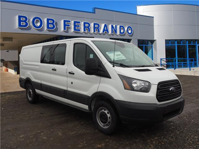 2018 Transit 250 Low Roof 4x2,  Masterack Electrical Contractor Upfitted Cargo Van #JF166 - photo 1