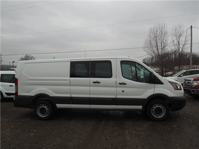2018 Transit 250 Low Roof 4x2,  Masterack Electrical Contractor Upfitted Cargo Van #JF166 - photo 3