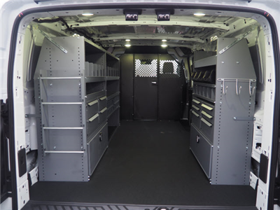 2018 Transit 250 Low Roof 4x2,  Masterack Electrical Contractor Upfitted Cargo Van #JF166 - photo 2
