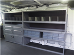 2018 Transit 250 Low Roof 4x2,  Masterack Electrical Contractor Upfitted Cargo Van #JF166 - photo 7
