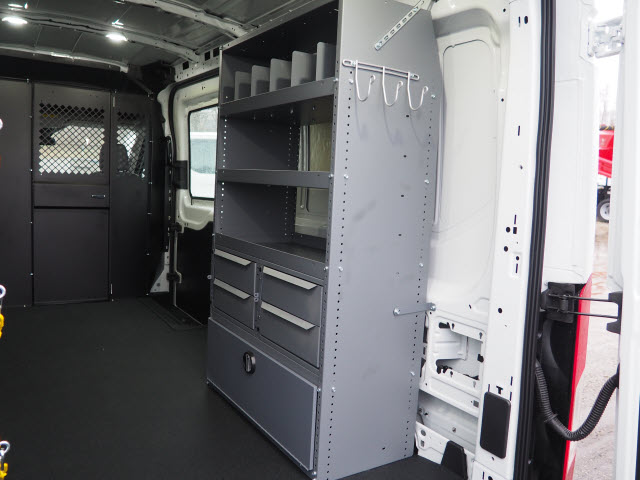 2018 Transit 250 Med Roof 4x2,  Masterack Upfitted Cargo Van #JF200 - photo 7