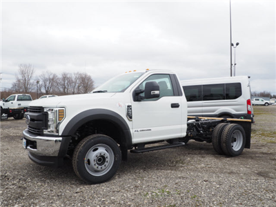 2018 F-550 Regular Cab DRW 4x4,  Cab Chassis #JF356 - photo 3