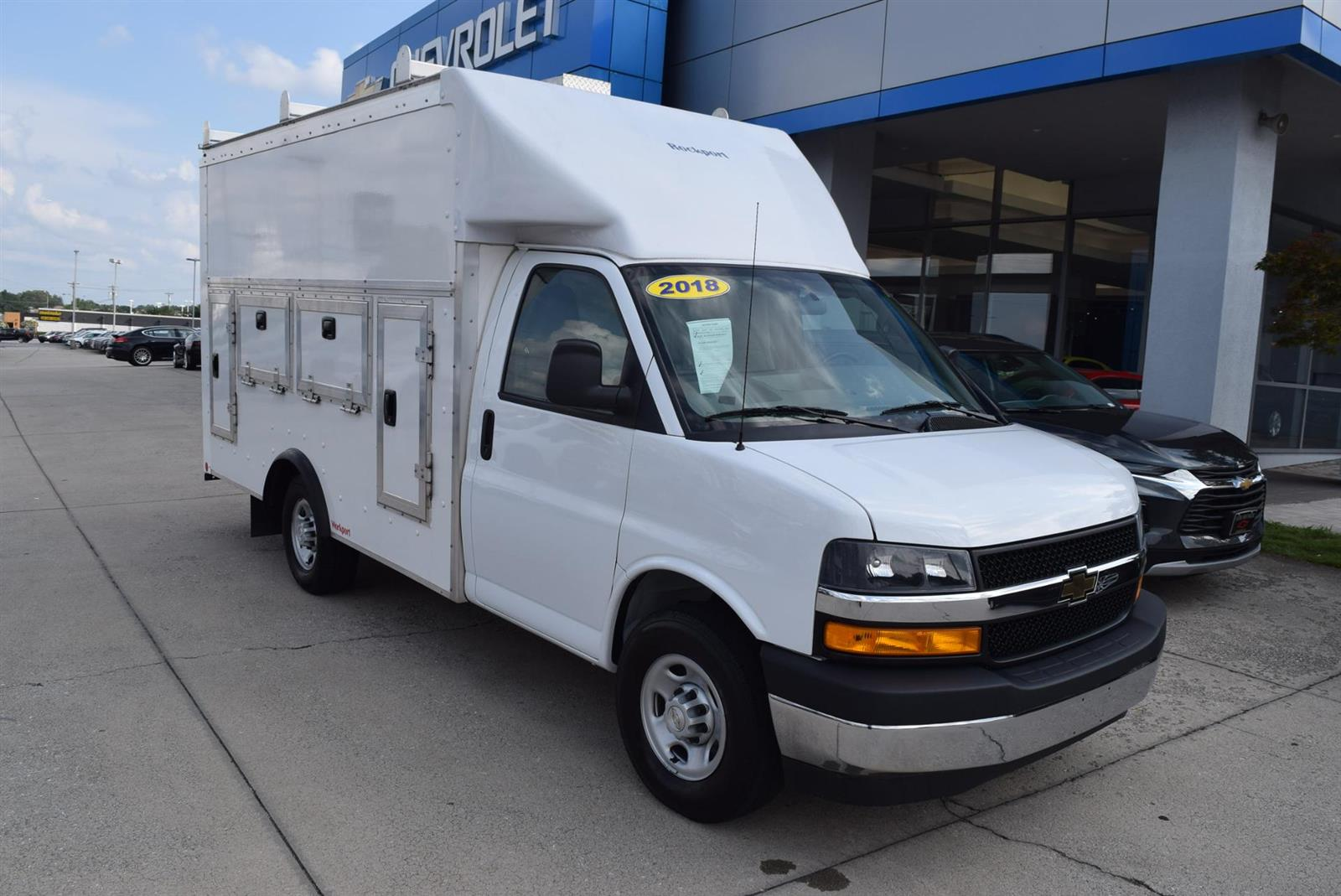 2018 Chevrolet Express 3500 RWD, Rockport Service Utility Van #109770 - photo 1