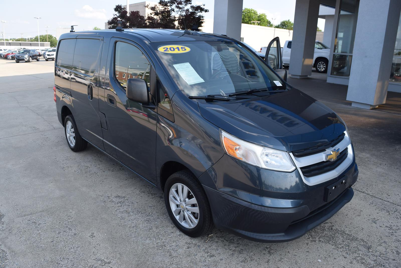 2015 Chevrolet City Express FWD, Empty Cargo Van #110109F - photo 1