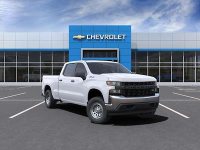 2021 Chevrolet Silverado 1500 Crew Cab 4x4, Pickup #210596 - photo 1
