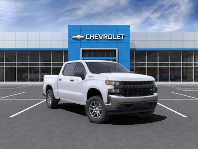 2021 Chevrolet Silverado 1500 Crew Cab 4x4, Pickup #210602 - photo 1