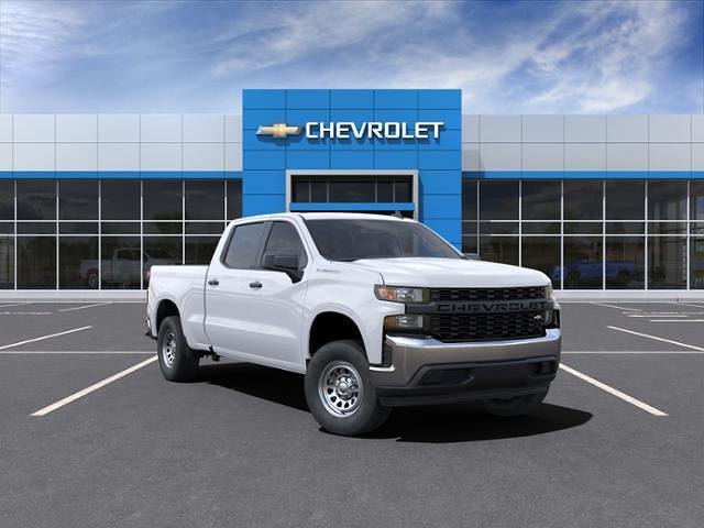 2021 Chevrolet Silverado 1500 Crew Cab 4x2, Pickup #210603 - photo 1