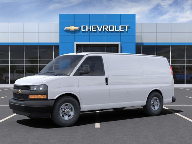 2021 Chevrolet Express 2500 4x2, Empty Cargo Van #210606 - photo 3