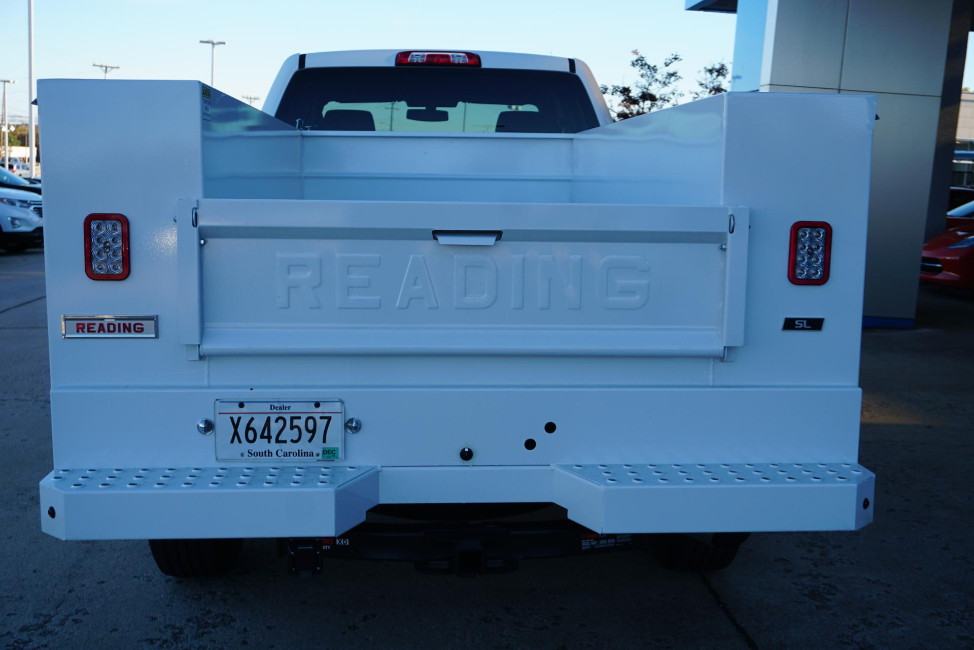 2019 Silverado 2500 Double Cab 4x2, Reading SL Service Body #91718 - photo 4