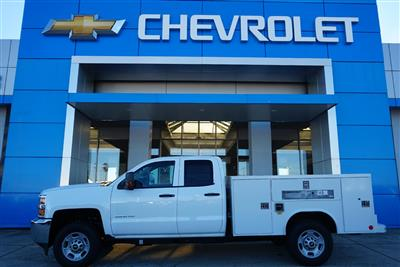 2019 Silverado 2500 Double Cab 4x2, Reading SL Service Body #91718 - photo 1