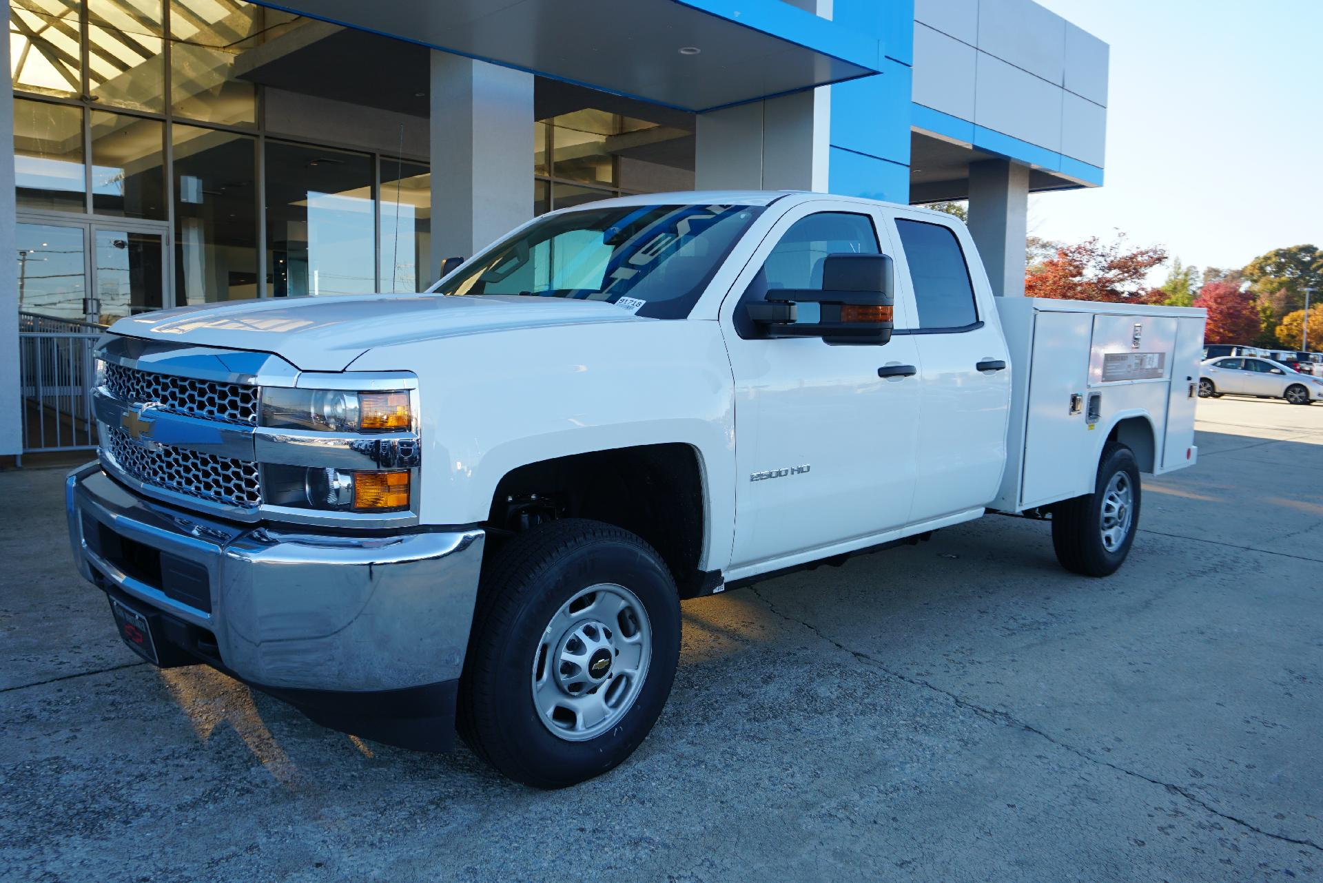 2019 Silverado 2500 Double Cab 4x4, Reading Service Body #91726 - photo 1