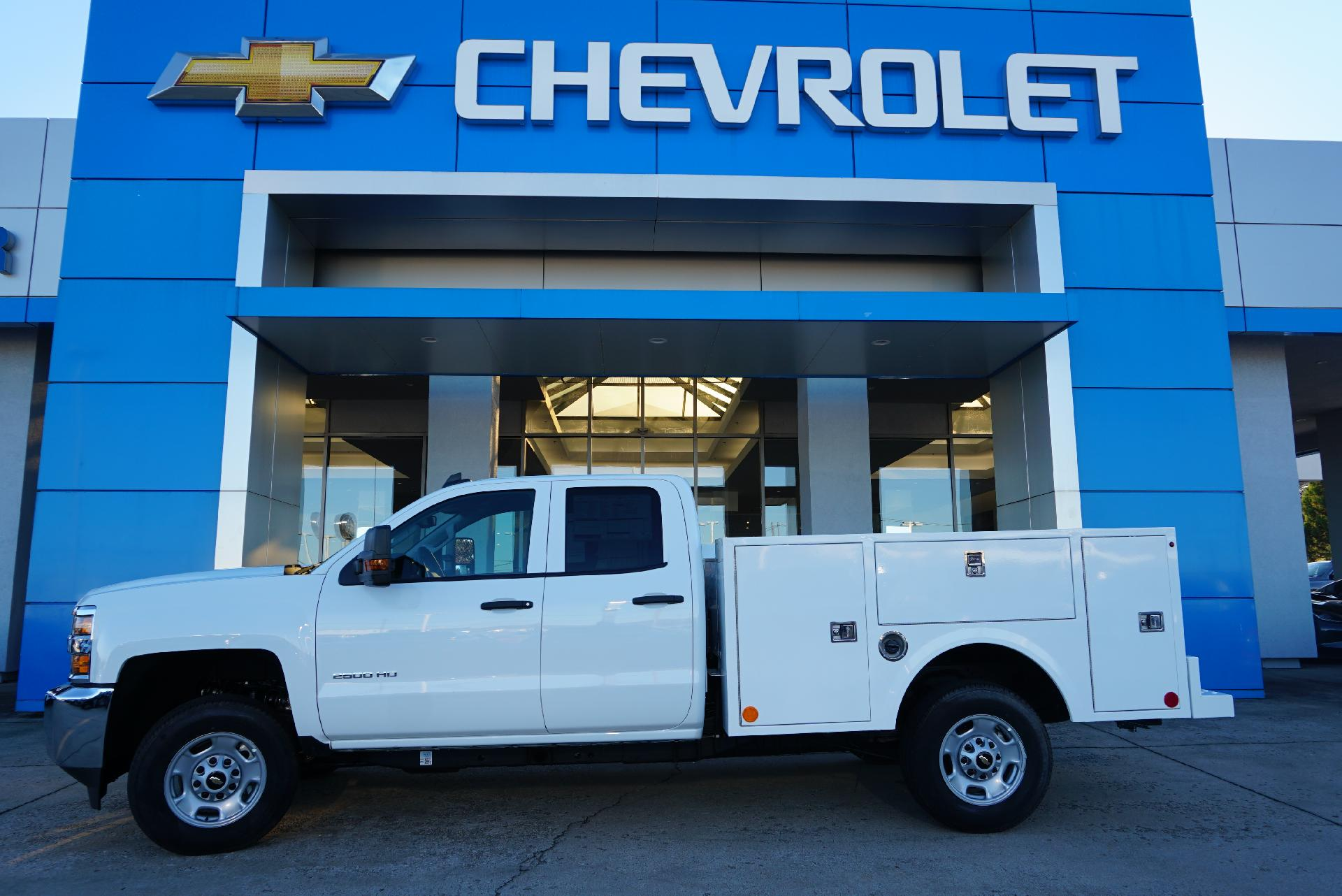 2019 Silverado 2500 Double Cab 4x2, Warner Service Body #91736 - photo 1