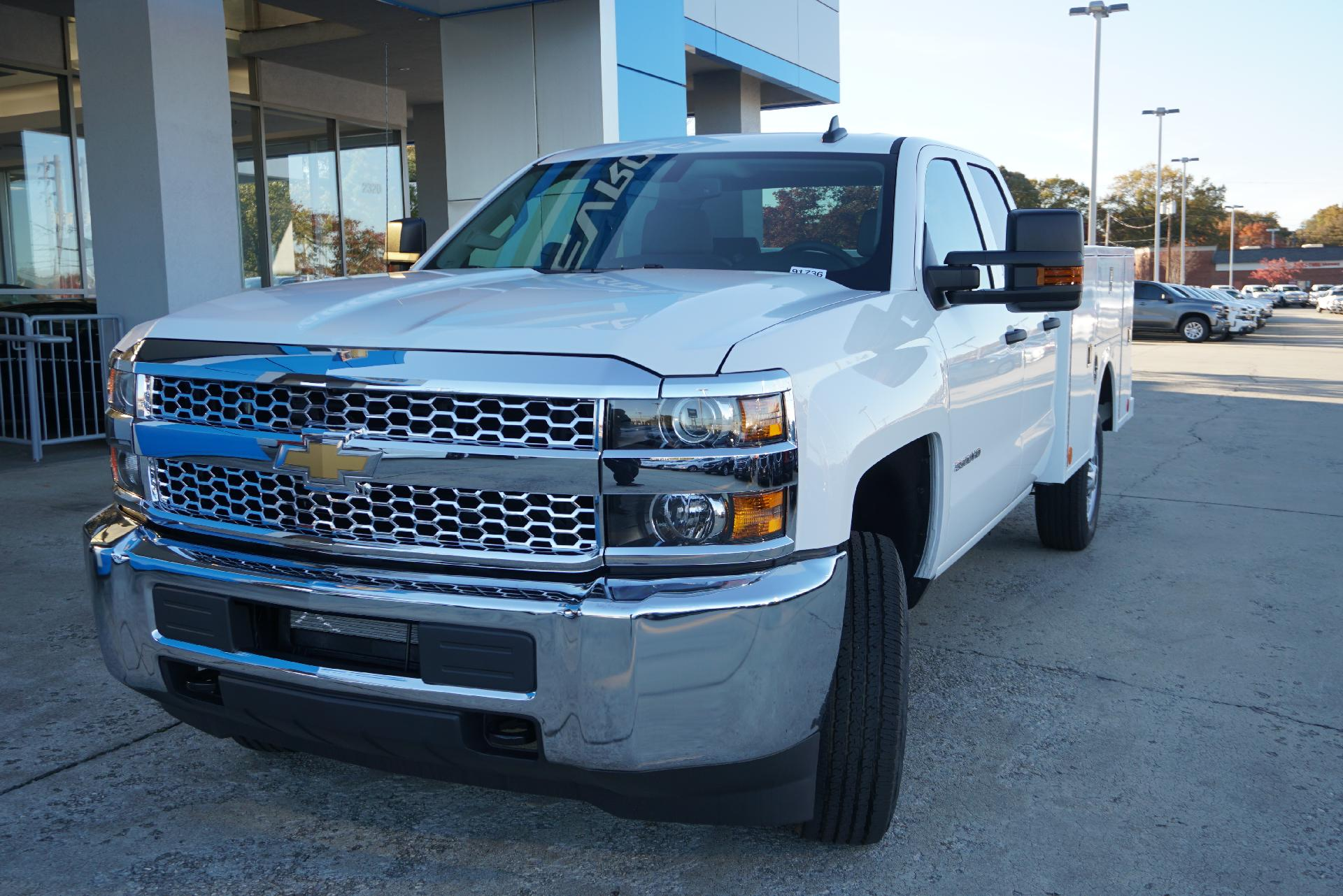 2019 Silverado 2500 Double Cab 4x2, Service Body #91764 - photo 1