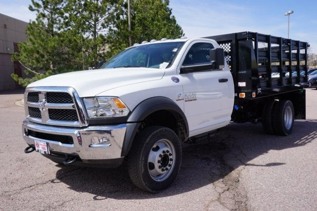2017 Ram 5500 Regular Cab DRW 4x4, Stake Bed #7704R - photo 3