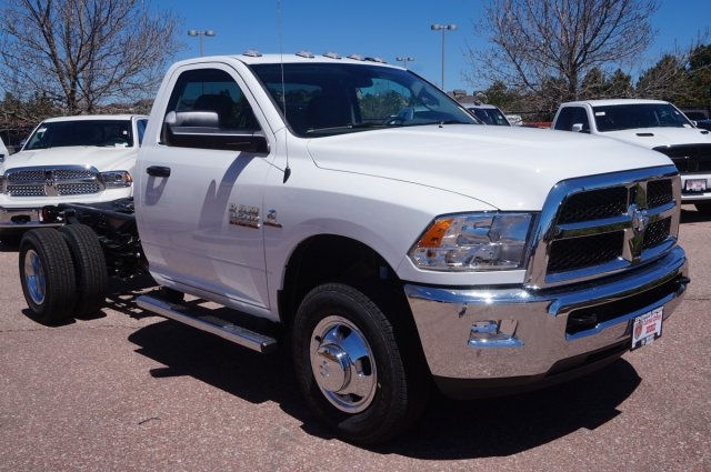 2017 Ram 3500 Regular Cab DRW 4x4, Cab Chassis #7745R - photo 3