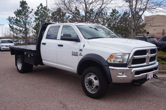 2017 Ram 5500 Crew Cab DRW 4x4, Platform Body #7765R - photo 3
