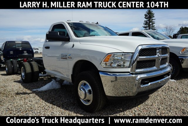 2017 Ram 3500 Regular Cab DRW 4x4,  Cab Chassis #HG534431 - photo 1