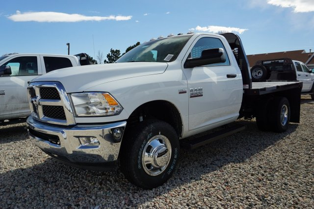 2018 Ram 3500 Regular Cab DRW 4x4, Platform Body #JG100605 - photo 4