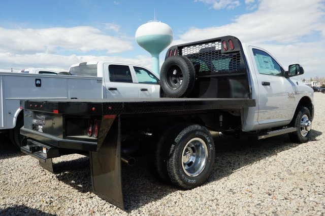 2018 Ram 3500 Regular Cab DRW 4x4, Platform Body #JG100605 - photo 2