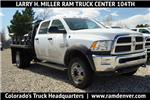 2018 Ram 3500 Regular Cab DRW 4x4, Platform Body #JG100605 - photo 1