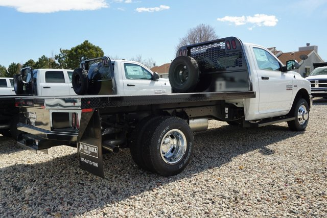 2018 Ram 3500 Regular Cab DRW 4x4, Knapheide Platform Body #JG100606 - photo 2