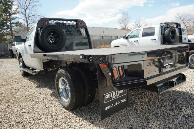 2018 Ram 3500 Regular Cab DRW 4x4, Knapheide Platform Body #JG100606 - photo 3