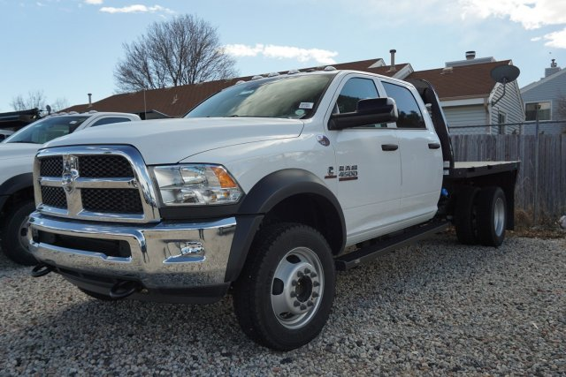 2018 Ram 3500 Regular Cab DRW 4x4, Knapheide Platform Body #JG100606 - photo 4