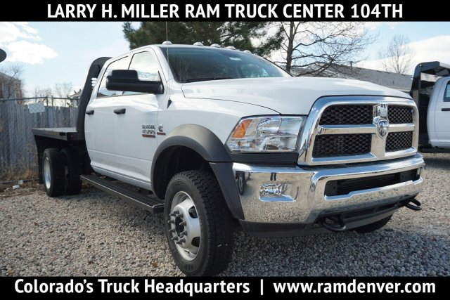 2018 Ram 3500 Regular Cab DRW 4x4, Knapheide PGNB Gooseneck Platform Body #JG100606 - photo 1
