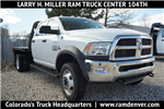 2018 Ram 3500 Regular Cab DRW 4x4, Knapheide Platform Body #JG100606 - photo 1