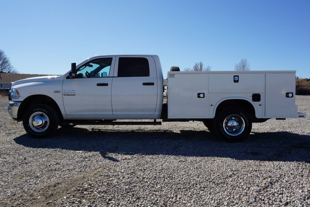 2018 Ram 3500 Crew Cab DRW 4x4, Service Body #JG100608 - photo 4