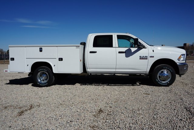 2018 Ram 3500 Crew Cab DRW 4x4, Service Body #JG100608 - photo 2