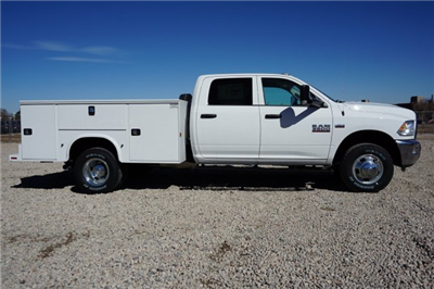2018 Ram 3500 Crew Cab DRW 4x4,  Knapheide Service Body #JG100608 - photo 2