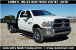 2018 Ram 3500 Crew Cab DRW 4x4, Platform Body #JG104567 - photo 1