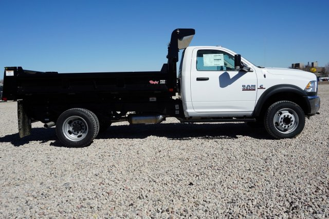 2018 Ram 4500 Regular Cab DRW 4x4, Dump Body #JG110948 - photo 3
