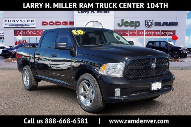 2018 Ram 1500 Crew Cab 4x4,  Pickup #JG129960 - photo 1