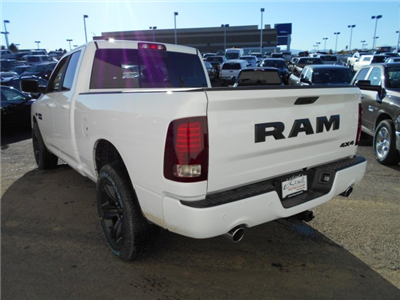 2018 Ram 1500 Quad Cab 4x4 Pickup #JS113855 - photo 2