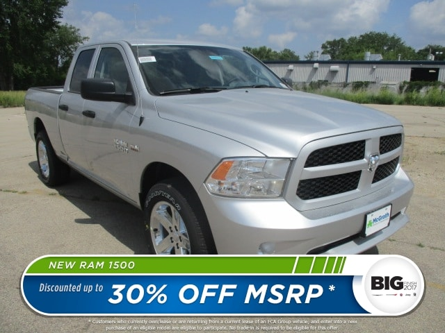 2017 Ram 1500 Quad Cab 4x4 Pickup #D170913 - photo 1