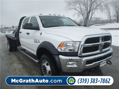2018 Ram 4500 Crew Cab DRW 4x4, Platform Body #D180109 - photo 1