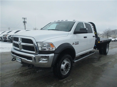 2018 Ram 4500 Crew Cab DRW 4x4, Platform Body #D180109 - photo 4
